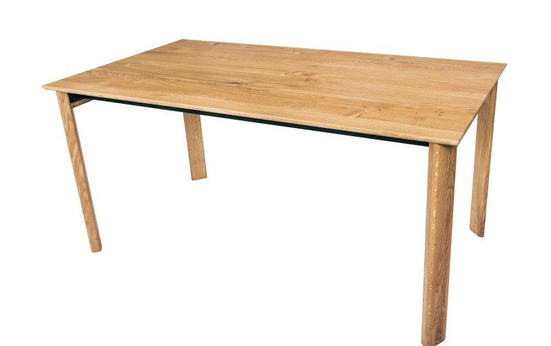 Rozkládací jídelní stůl z masivu VALLETTA dub rustik