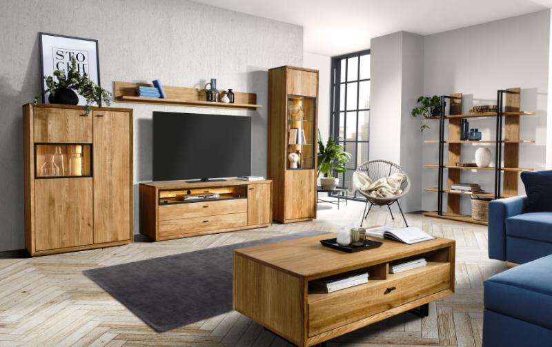 Dubový nábytek do obývacího pokoje 2 VIGO