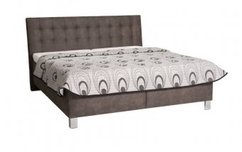Čalouněná postel s úložným prostorem VIKTORIA - Pohoda 160x200