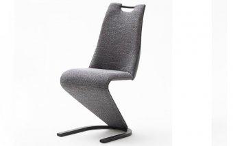 Moderní jídelní židle VITORIA šedá