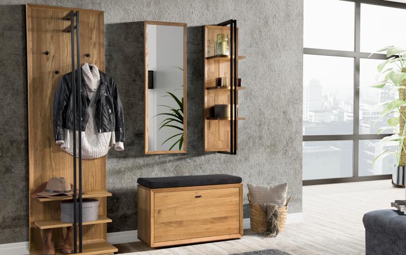 Dubový nábytek do předsíně C VIGO