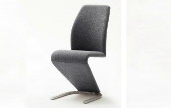 Moderní jídelní židle VIRGINIA šedá