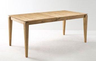Rozkládací jídelní stůl z masivu WHITBY dub divoký