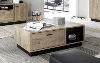 Konferenční stolek WIDIN dub Ribbeck/černá
